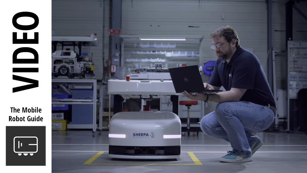 Image of Sherpa SMART & MOBILE COLLABORATIVE ROBOTS - 2020