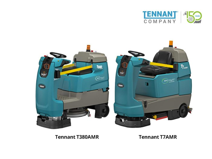 Tennant AMR images including the T380 and the T7
