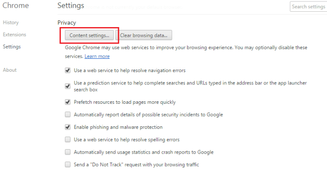 get rid of ads by Chrome advanced