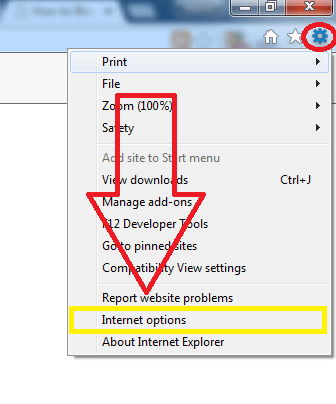 get rid of ads by from internet explorer