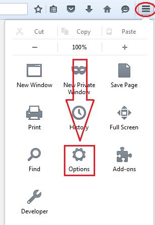 get rid of ads by firefox menu