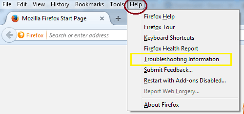 get rid of ads by firefox troubleshooting