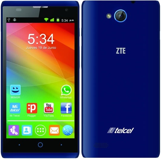 ZTE Blade G Lux MT 6572 4.4.2 Flash File Firmware