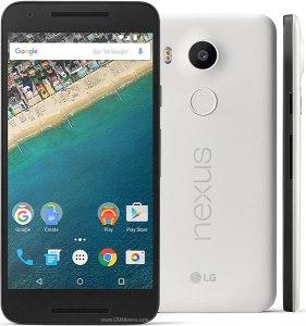 LG Nexus 5X MMB29P Android 6.0.1 Marshmallow Kdz Firmware Flash File