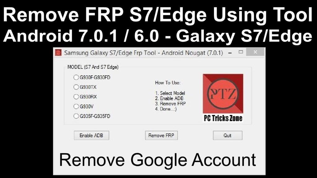 Samsung Galaxy S7 Edge FRP Tool