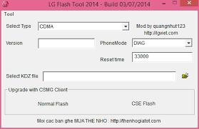 LG Flash Tool 2014 KDZ Flash Tool