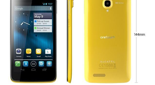 Alcatel One Touch Scribe HD 8008D MT6589 Firmware Flash File
