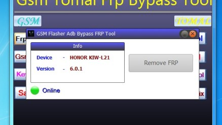 GSM Tomal FRP Bypass Tool is a small application for windows computer which compile a list of very useful tools including FRP ADB bypass Tool, GSM Flasher FRP Tool, Keygen FRP Tool Pro, Samsugn FRP Call, Oppo Unlock Tool. gsm tomal frp bypass tool It also comes with other helpful tools including ADB creator Tool, Spreadtrum FRP remove Tool, baseband Unlock Fix Tool. These tools allows you to remove or bypass the Android FRP protection from your Android Smartphone and Tablets. It also helps you to remove the password Lock, Remove PIN Lock, Remove Pattern Lock, Remove Face Lock, Remove the Xiaomi Account, Remove the Gmail Account. In order to use the GSM FRP Bypass Tool properly, you need to install the Universal ADB Driver on your Computer. Once Driver is installed you can successfully connect your Android Device to the computer, and launch the Tomal FRP Bypass Tool on the computer. Download GSM Tomal FRP Bypass Tool File Name: Gsm_Tomal_Frp_Bypass_Tool.zip Alternative Name: GSM Tomal FRP Bypass Tool File Version: v1.0 File Size: 70.9 MB Tool Link: Click Here to Get the Tool