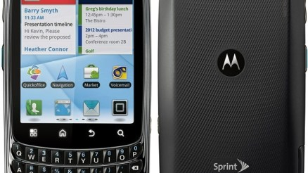 Motorola Admiral XT603 Stock Firmware Flash File