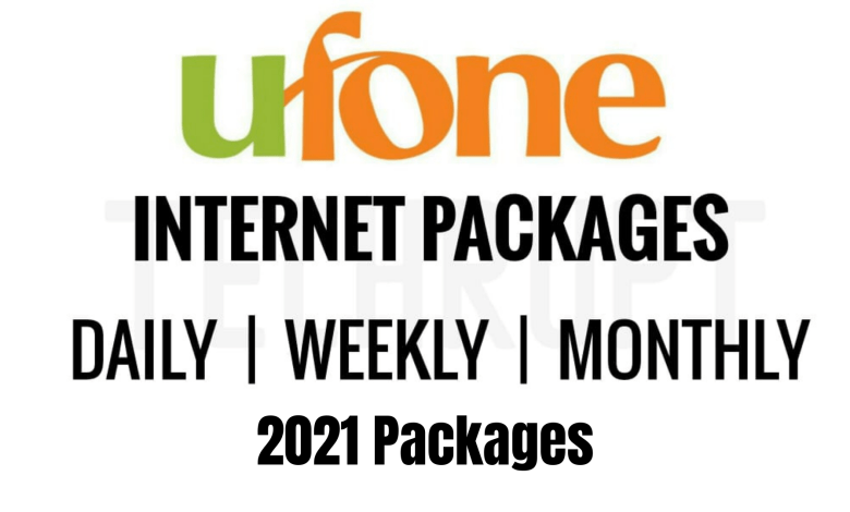 Photo of Latest Ufone Internet Packages