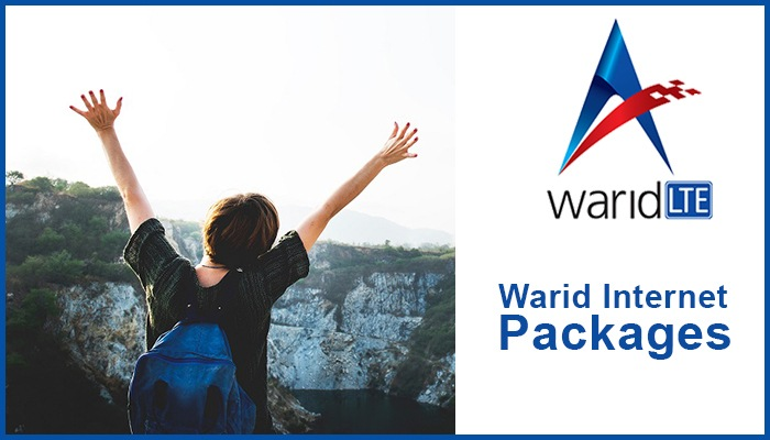 Photo of Warid Internet Packages