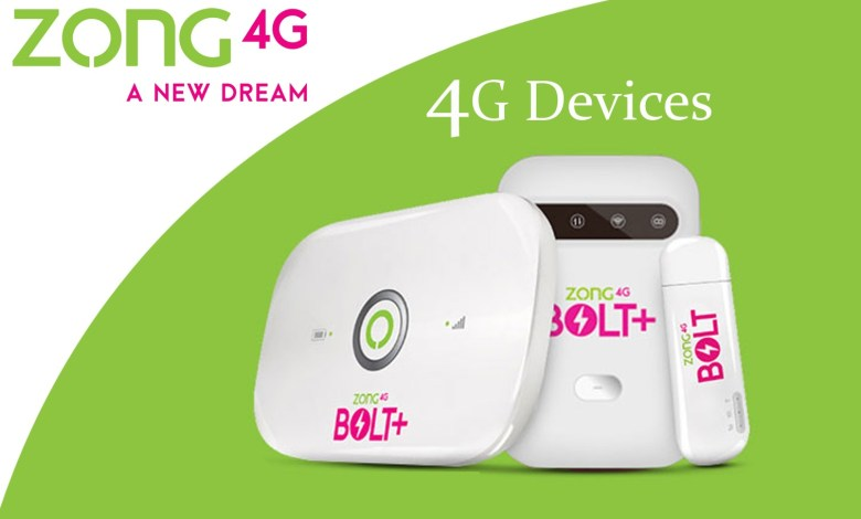 Photo of Zong 4g Device Packages