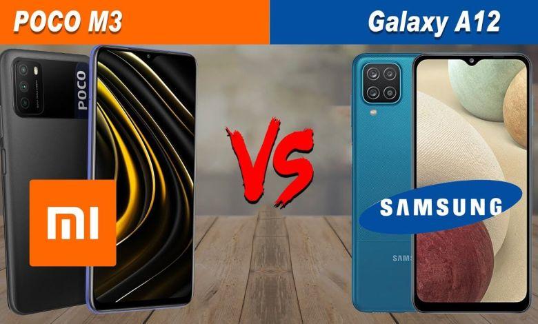 Photo of Samsung Galaxy A12 vs Xiaomi Poco M3 128GB