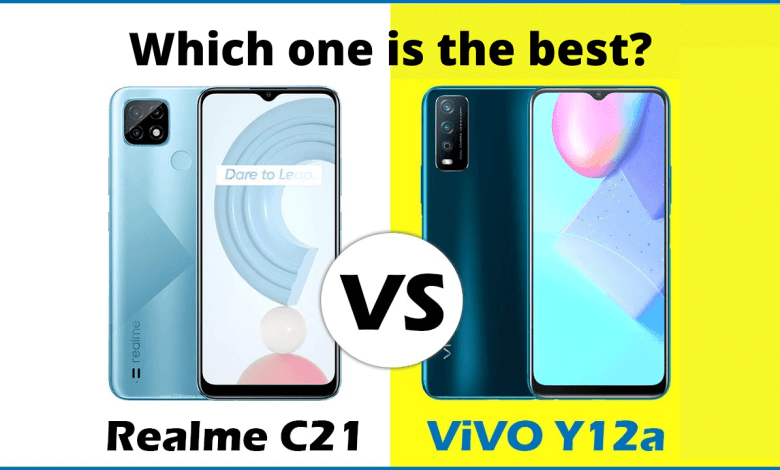 Photo of Realme C21 3GB and Vivo Y12A, which one is better?