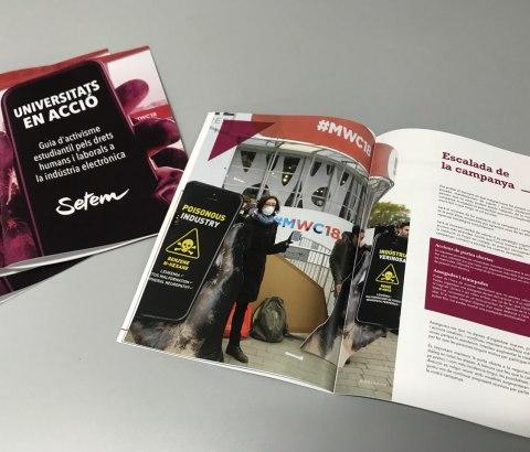 Presentem la Guia d'activisme estudiantil 'Universitats en Acció'