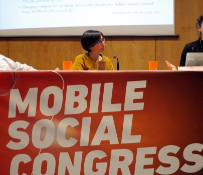 The Mobile Social Congress presents a report associating suicide with working conditions in the electronics industry in China
