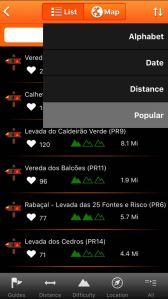 WalkMe Madeira list of levadas.