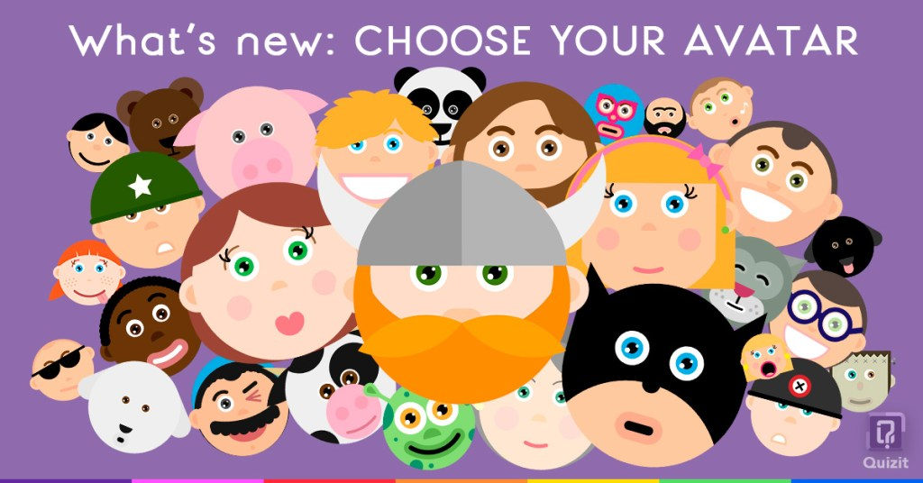 Quizit. What's new: Avatars.