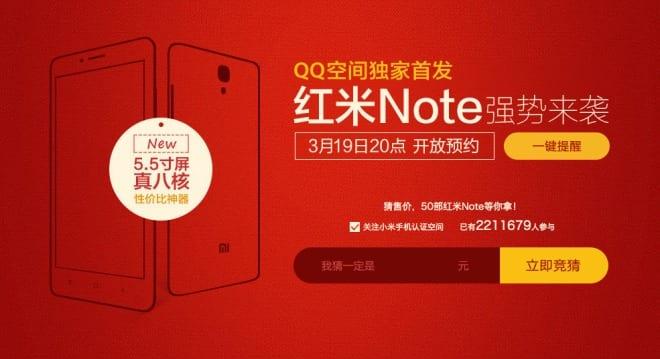 Xiaomi Redmi Note już niebawem!