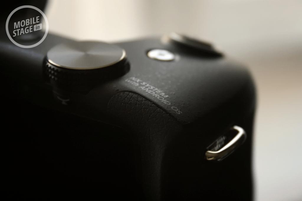 Samsung GALAXY NX - przyciski