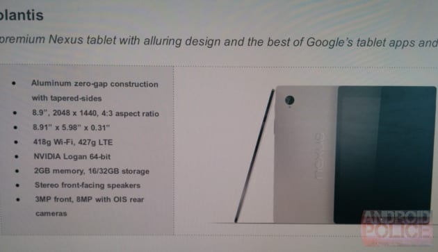 HTC Nexus 8.9