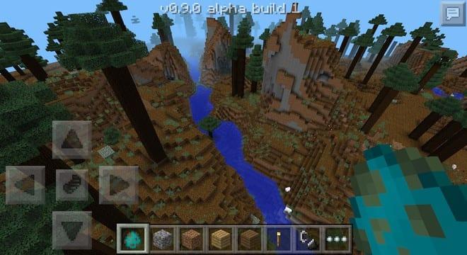 Minecraft Pocket Edition 0.9
