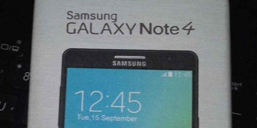 Pierwsze zdjęcia Galaxy Note IV w sieci!