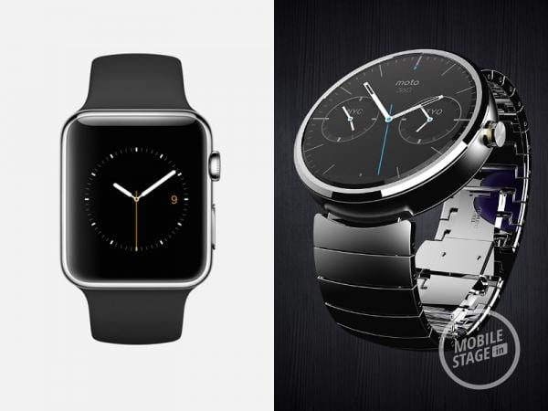 Android Wear vs Apple Watch – porównanie interfejsu [galeria]
