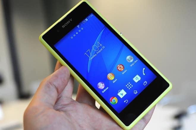 [IFA 2014] Sony Xperia E3 – niedrogi średniak