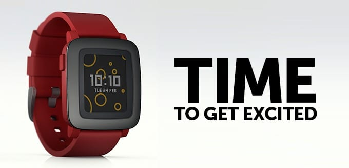 Nowy smartwatch – Pebble Time