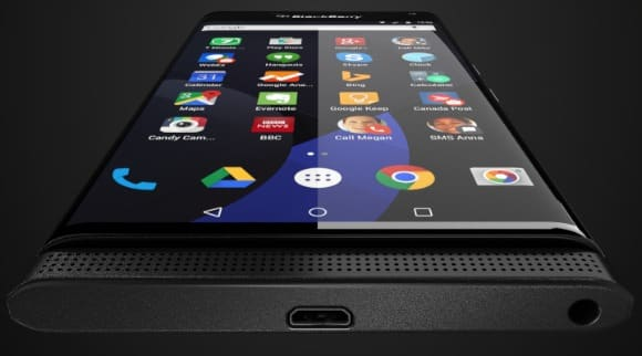 System Android na smartfonach BlackBerry