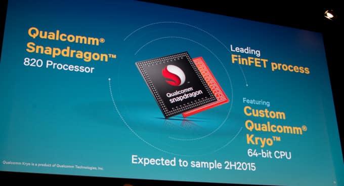 Smartfony z procesorem Snapdragon 820 już niedługo pojawią się na rynku