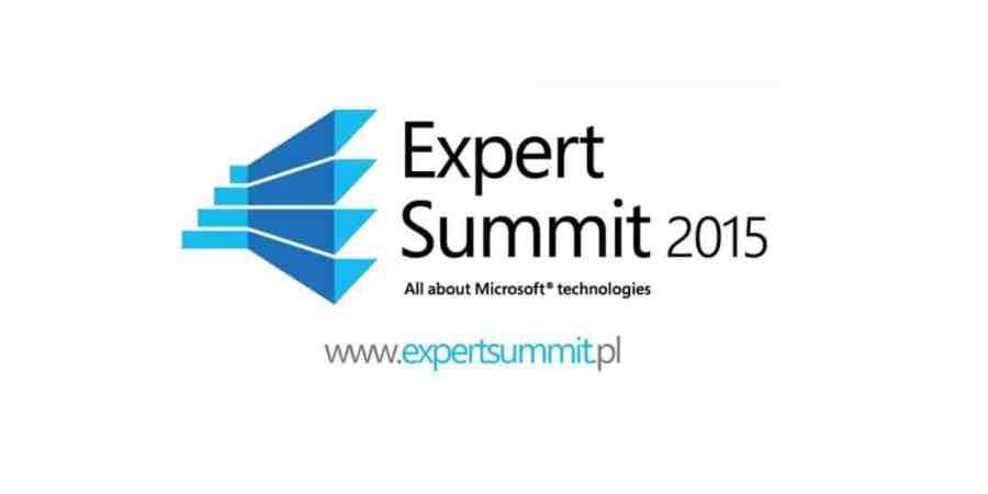 Microsoft Expert Summit   Lublin   5 listopad 2015