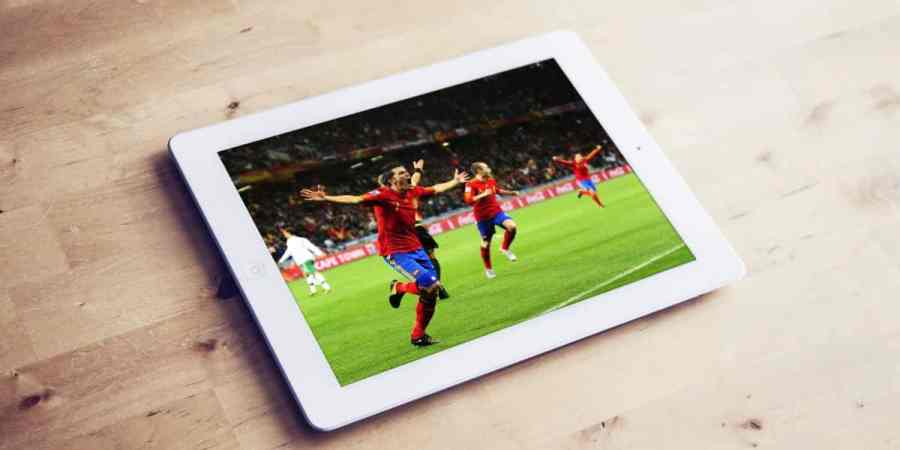 Mecze online na tablecie z Androidem