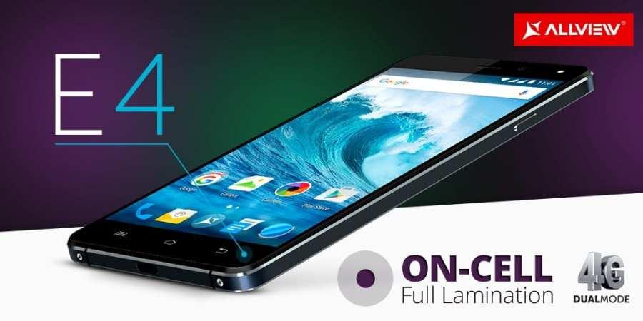 Allview wprowadza dwa nowe smartfony E4 i E4 Lite