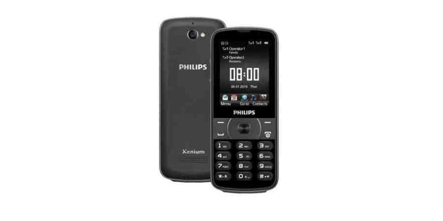 Philips Xenium E560 –biznesowy telefon pracujący do 73 dni bez ładowania