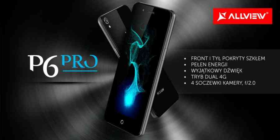 Allview prezentuje P6 PRO z funkcją szybkiego ładowania