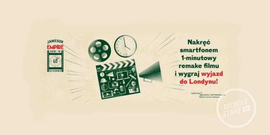 """Startuje II edycja konkursu filmowego """"Done in 60 seconds"""""""