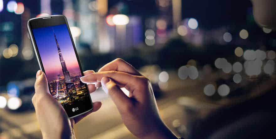 LG prezentuje nowy model K8