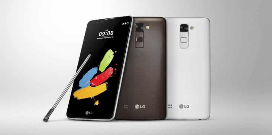 LG STYLUS 2 debiutuje na MWC 2016
