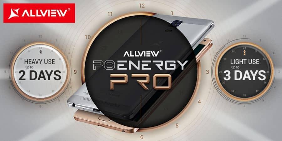 Allview prezentuje P8 Energy PRO