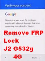 Remove FRP lock