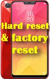 factory reset Oppo Realme 2 hard reset and recovery restore data