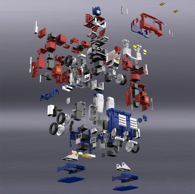optimus prime toy components