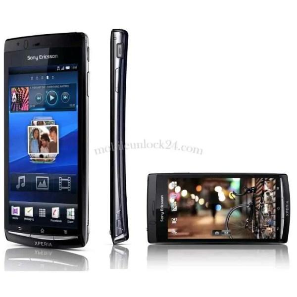 unlock Sony Ericsson Xperia Arc S, LT18i, LT18a