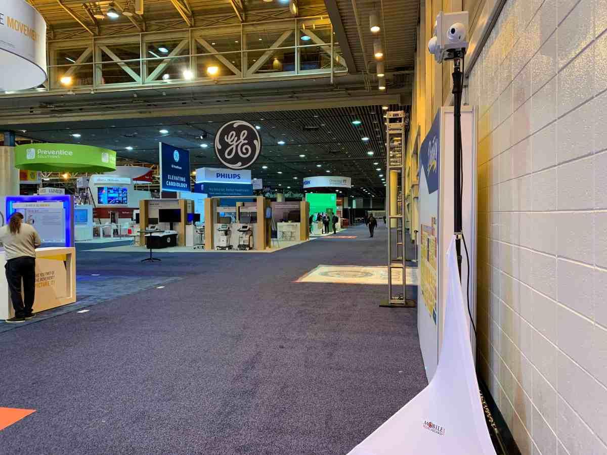 trade show security cameras