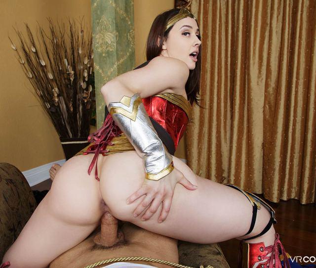 Wonder Woman Vr Porn Cosplay Starring Chanel Preston Pics