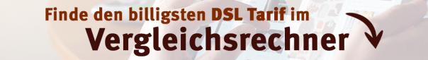 Billigste DSL Tarife