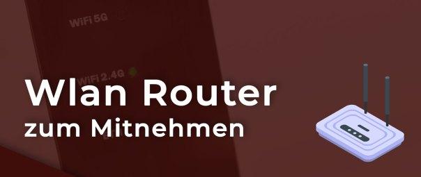 Wlan Router zum Mitnehmen