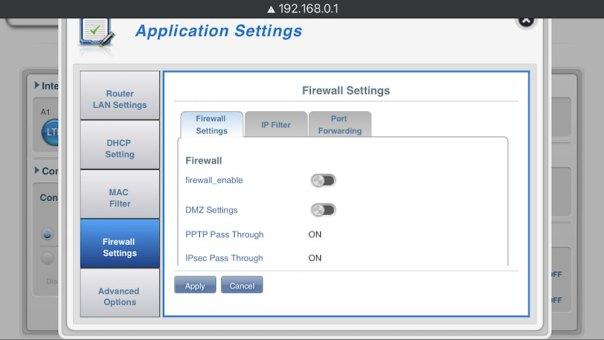 D-Link Firewall
